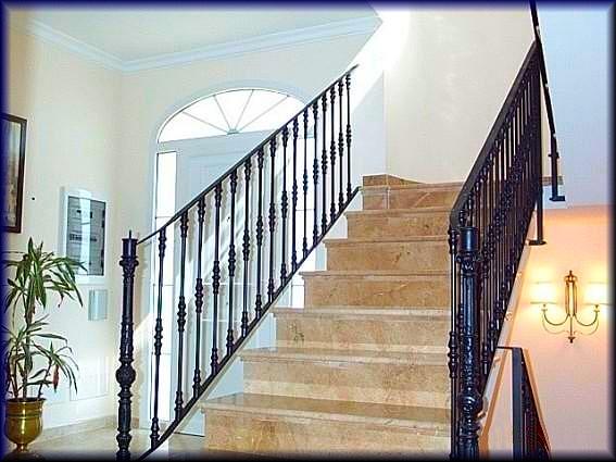 Herreria vilfor galeria de trabajos - Barandilla para escalera ...