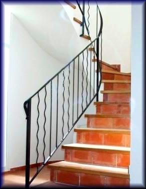 Herreria vilfor galeria de trabajos - Barandilla de escalera ...