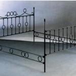 Cabezal cama en hierro forjado