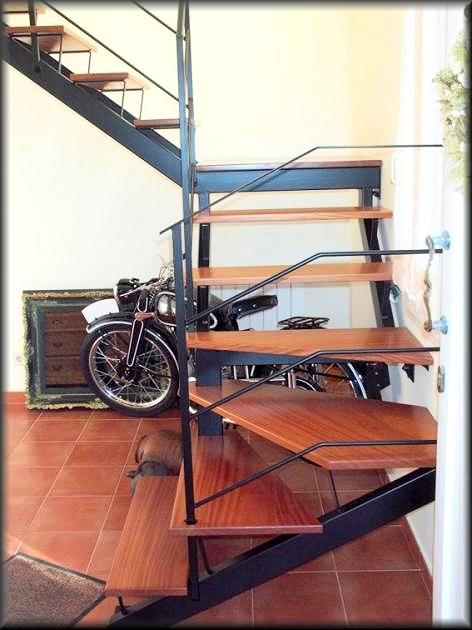 Herreria vilfor galeria de trabajos for Escaleras de hierro y madera
