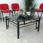 Mesa en hierro